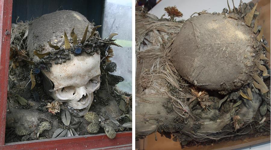 Reliquienschrein vor Restaurierung