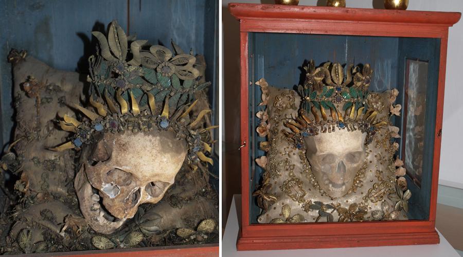 Reliquienschrein II nach der Restaurierung