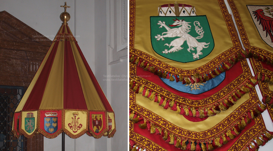 Basilika Mariazell: Rekonstruktion des Basilikaschirms