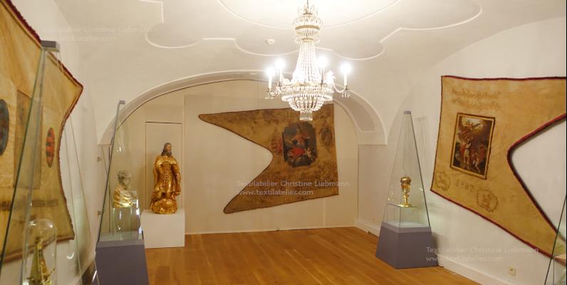Diözesanmuseum Eisenstadt: Präsentation der Zunftfahnen